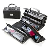 Joy Mangano Paris Chic Quilted Better Beauty Case Set, Bags Central