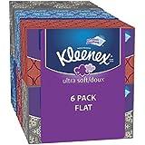 Kleenex Ultra Soft & Strong Facial Tissues, Medium Count Flat, 170 ct, 6 Pack