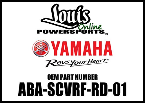 Yamaha ABA-SCVRF-RD-01 Front Shock Cover for Yamaha ()