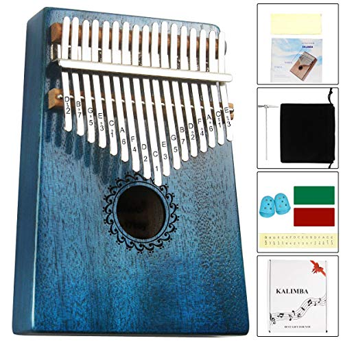Wooden 10 Keys Finger Thumb Piano Kalimba Mbira Education Musical Instrument SD