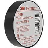 "3//4/"" X 60/' 1.5 Core Vinyl Tape 3M 1700-3//4X60FT-1.5CORE 4 Pack"