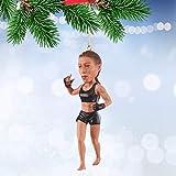 MMA UFC Christmas Ornaments Bobblehead