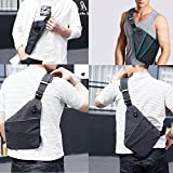 FALETO Anti-Thief Sling Bag Chest Hidden Security