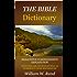 Bible Dictionary (EXHAUSTIVE COMPREHENSIVE)