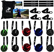 Kbands Fusion Cables Velocity Trainer (Baseball - Softball Resistance Arm Bands for Strength and Velocity)