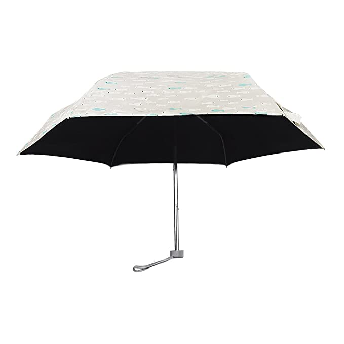Paraguas Anti-UV Parasol de viaje plegable manual paraguas automático Mini Sombrilla portagble resistente al viento impermeable al agua paraguas Umbrella ...