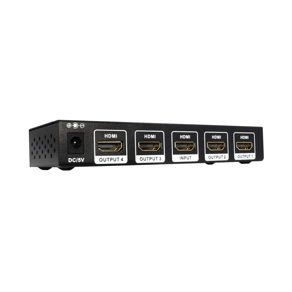 HDCP 2.2 1x4 HDMI Splitter 4K x 2K @60Hz Ultra HD HDR HDMI 2.0 18Gbps 1 in 4 Out