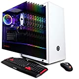 CyberpowerPC Gamer Xtreme VR GXiVR8540A Gaming PC (Intel Core i7-8700 3.2GHz, 16GB DDR4, NVIDIA GeForce RTX 2060 6GB, 1TB SSD, 802.11AC WiFi & Win 10 Home) White