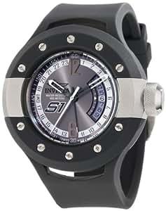 Invicta Men's 1366 S1 Grey Dial Grey Polyurethane Watch