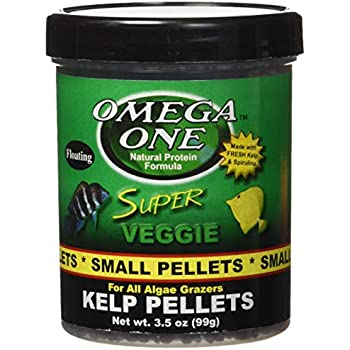 Omega One Super Color Cichlid Large Sinking Pellets Omega