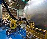 LAMINATED POSTER Preparing to Plug Into NASA SLS Fuel Tank A team prepares a robot the yellow machine attached to...