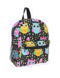 Ever Moda Girls Youth Owl Preschool Kindergarten School Mini Backpack