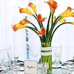 GTIDEA 20PCS Artificial Calla Lily Flowers 5