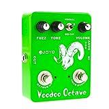JOYO JF-12 Voodoo Octave Fuzz & Octave Effect Pedal