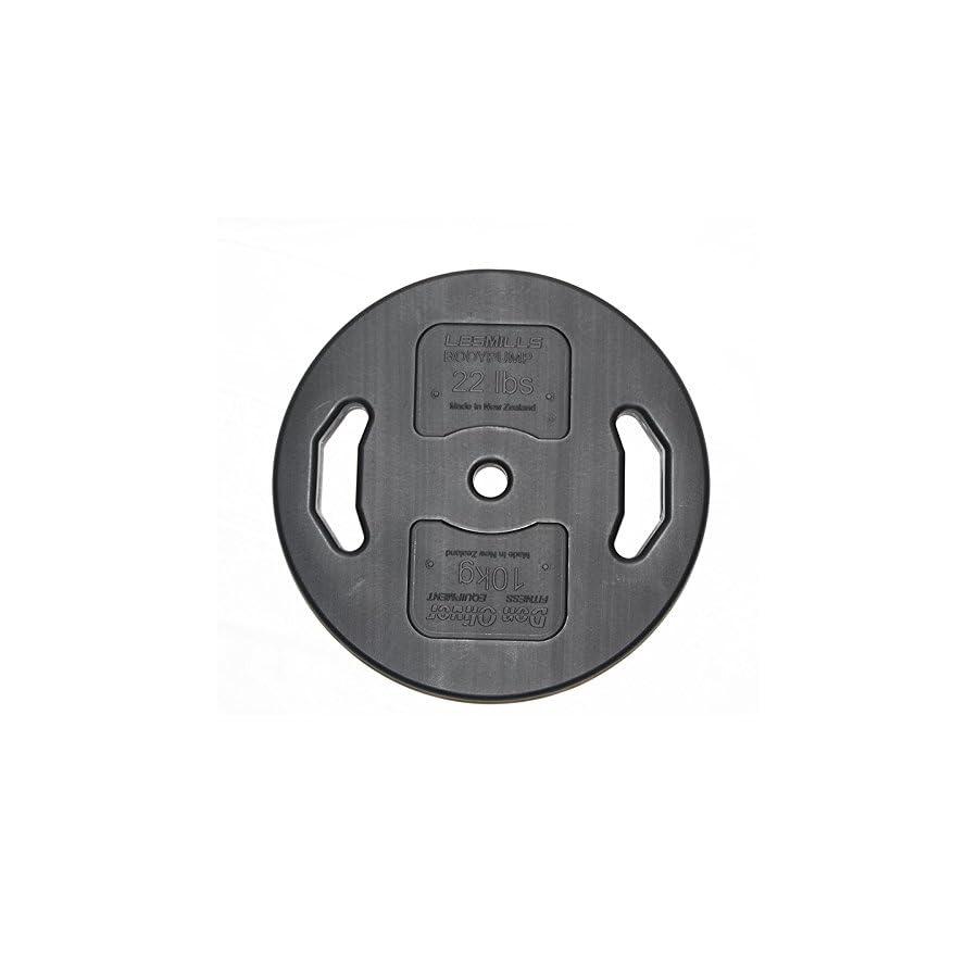 22lb (10kg) Don Oliver BODYPUMP® Single Plate