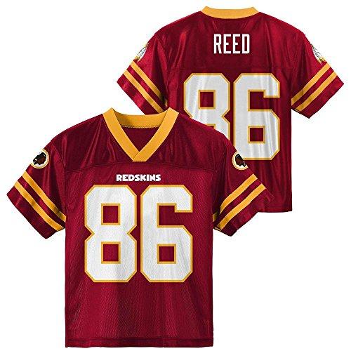 Jordan Reed Washington Redskins #86 Red Youth Home Player Jersey (X-Large 18/20)