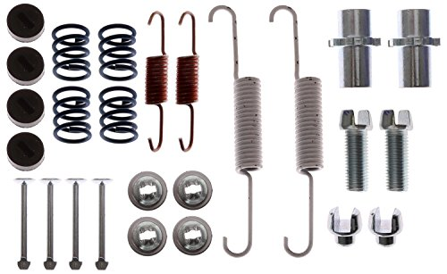 ACDelco 18K2707 Professional Rear Parking Brake Hold Down Spring Kit with Hardware