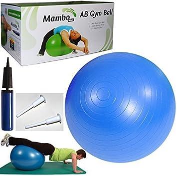 MSD - Pelota 75 cm Azul antipinchazos + Bomba + 2 Tapones Usuario H 175 -  185 cm Pilates Swiss Fitball psicomotoria AB Gym Ball  Amazon.es  Deportes  y aire ... bfa5d80099df