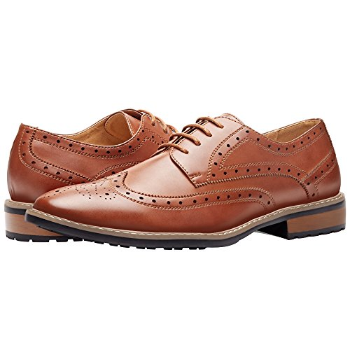 Gm Golaiman Men S Leather Oxford Dress Shoes Formal Lace