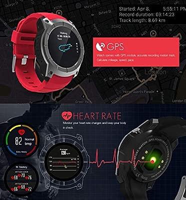 ALXDR S958 Smart Watch Phone GPS Sport Fitness Tracker con ...