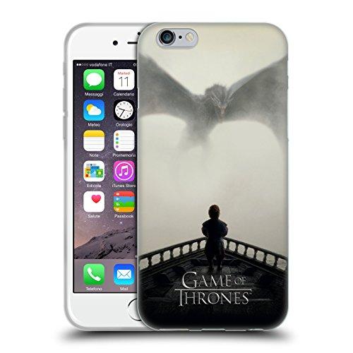 Officiel HBO Game Of Thrones Vengeance Art Clé Étui Coque en Gel molle pour Apple iPhone 6 / 6s