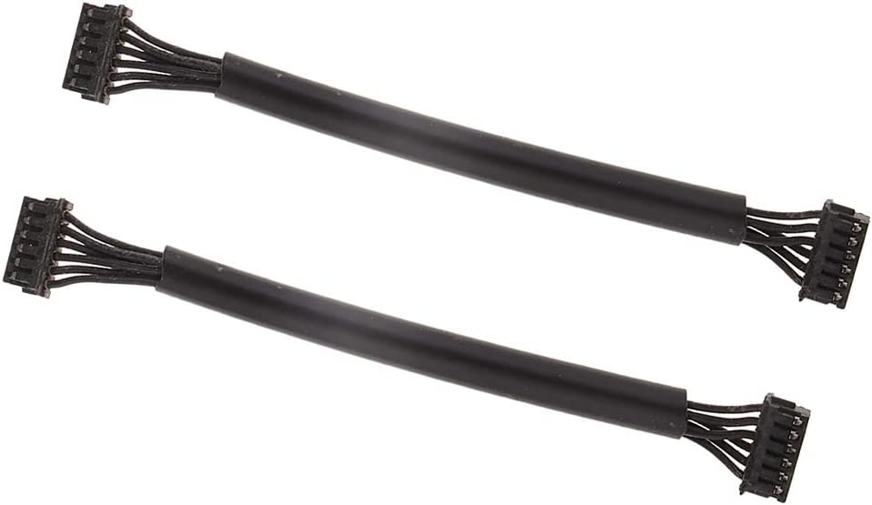 SaniMomo 2 X RC Car Sensored Brushless ESC Motor Sensor Cable Wire Harness 80mm