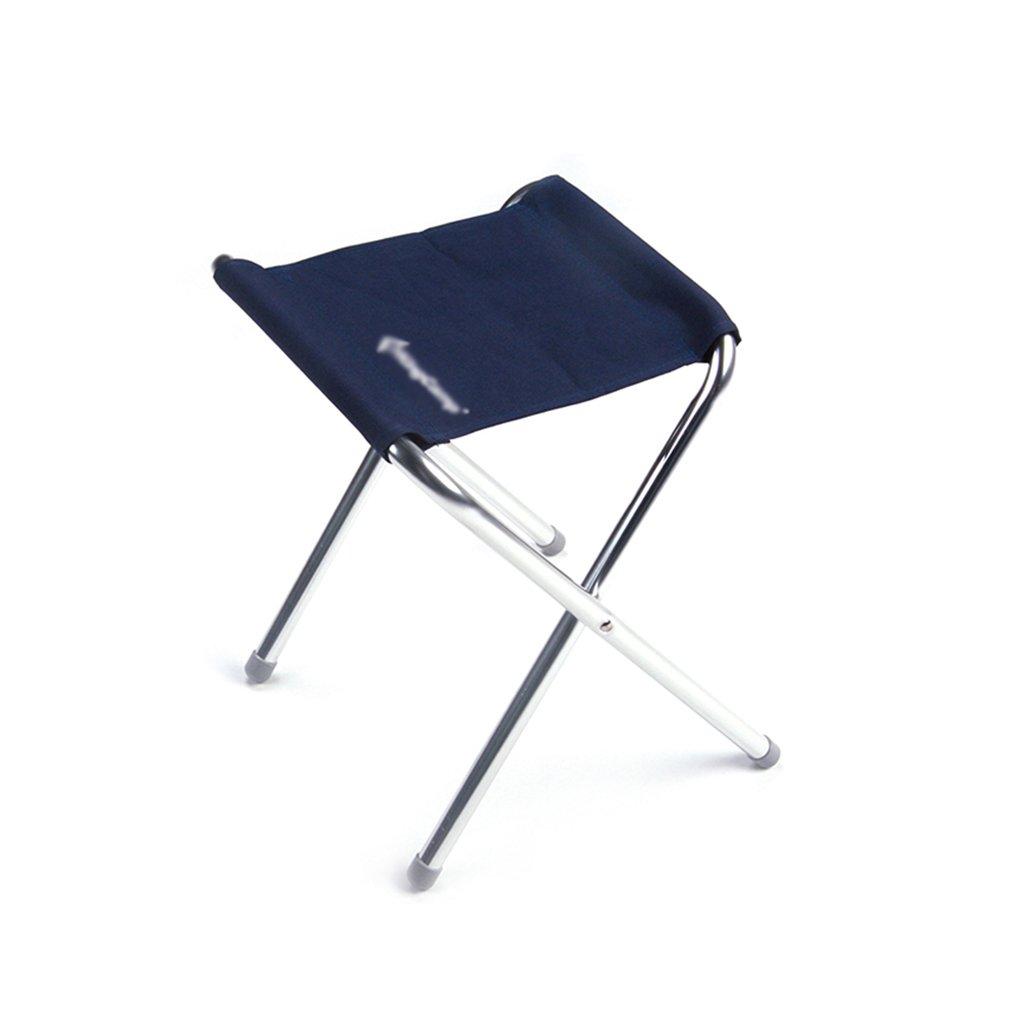 Meng wei shop Angeln Klappstuhl | Faltbarer tragbarer Mini Stuhl | Multifunktionaler Klappstuhl | Kann 65kg laden