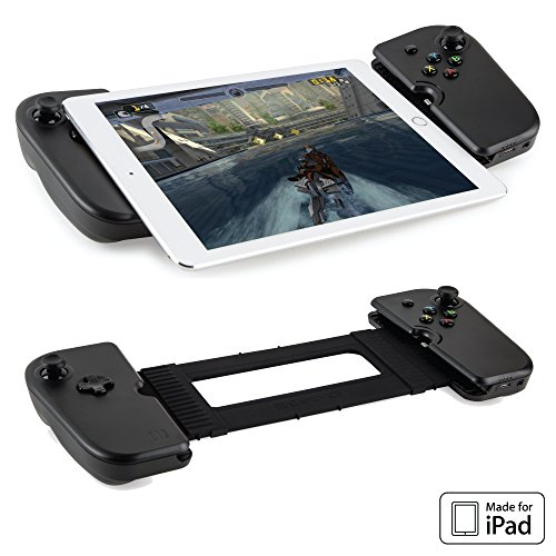 Gamevice Controller Gamepad - iPad (Apple MFi Certified) for iOS Gaming Controller, iPad Game Accessories [DJI Spark Drone Flight Control] iOS iPad Accessories 1000+ Games (NEW 2018 Edition)
