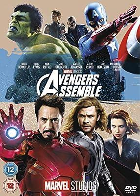 Avengers Assemble Cubierta puede variar Reino Unido DVD Reino ...