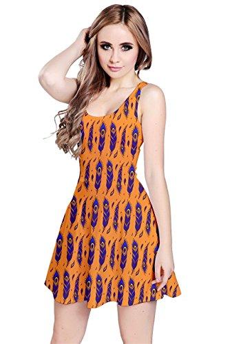 CowCow - Vestido - para mujer Orange Peacock