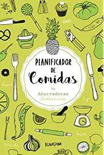 S. Libros Planificador de comidas 5: Planificador ...