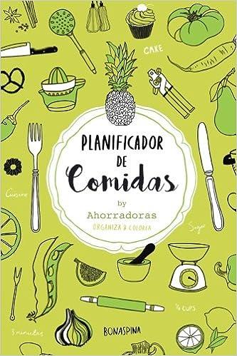Planificador de comidas: Organiza tu menu semanal: Amazon.es ...