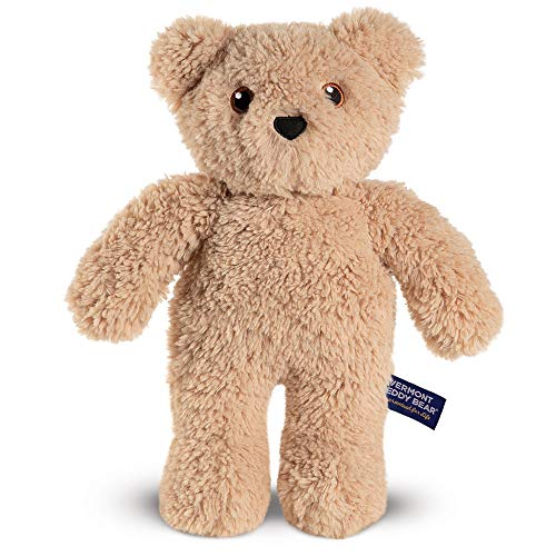 Vermont Teddy Bear - Teddy Bear for Kids, Plush Animal, 14 inches, Caramel Brown