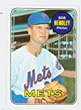 1969 Topps Baseball 144 Bob Hendley New York Mets Near-Mint