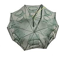 EASY BIG Portable Fishing Nets Foldable Hand Casting Bait...