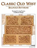 Classic Old West Billfold Patterns - 15 Tracing & Carving Leather Patterns
