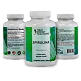 Cheap HIGH ENERGY SOLUTIONS Spirulina Non – GMO – 500 MG – 120 Veggie Capsules 100% Vegetarian & Non-Irradiated – Zero Pesticides – Additives – Maximum Strength 2000mg – 30 Day Supply – GMP – USA