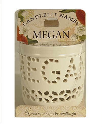 "Candlelit Names 001850157"" Megan Votive Candles from Candlelit Names"