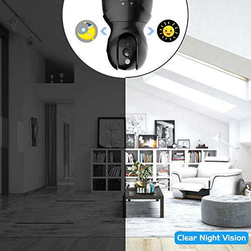 Security Camera Pet WiFi Camera - KAMTRON 1536P Indoor - Import It All