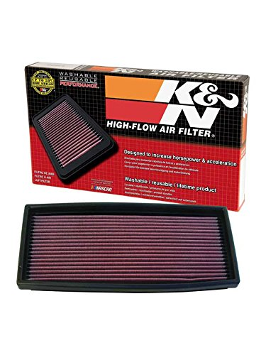 Air 1992 Bronco Ford (K&N 33-2023 High Performance Replacement Air Filter)