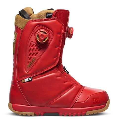 (DC Shoes Mens Shoes Judge - Snowboard Boots - Men - US 7.5 - Red Racing Red US 7.5 / UK 6.5 / EU 40)
