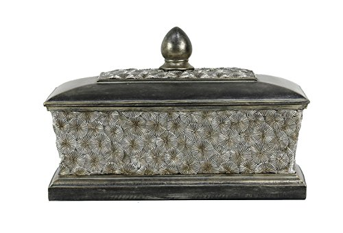StealStreet SS-DD-VX20 Adelphi Collection Large Jewelry Trinket Box