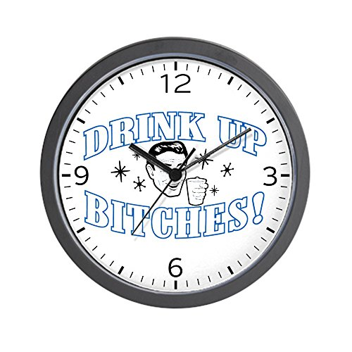wall-clock-beer-drink-up-bitches