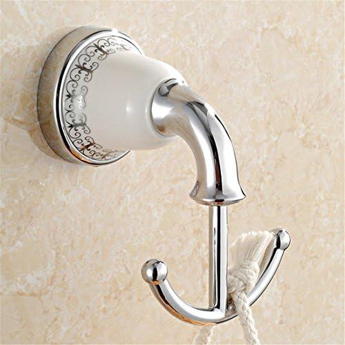 Badezimmer 3er-Set für Gäste WC Rollenhalter /& Handtuchring Antik-Stil Bürste