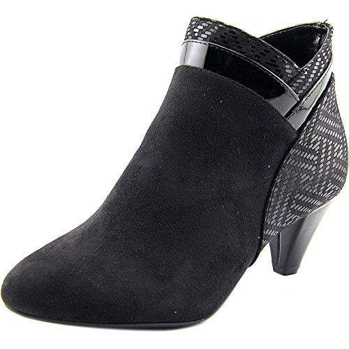 Karen Scott Womens Cahleb Fabric Closed Toe Ankle Fashion Boots, Black, Size 8.5 from Karen Scott