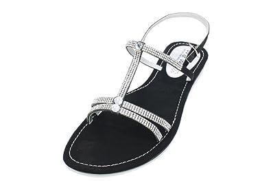 1708575d085fb5 W   W Women Ladies Evening Fashion Sandals Shoes Size Black