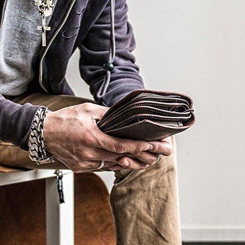 Handmade Vintage Leather Travel Wallet Passport Holder Secure Document Organizer iPhone Case Card Holder Men's Women's Fashion Leather Clutch Pen Holder