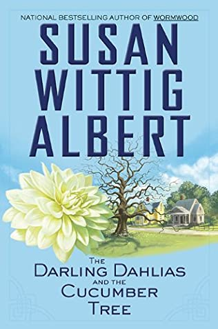 book cover of The Darling Dahlias and the Cucumber Tree