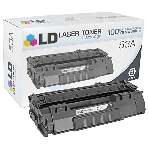 LD Compatible Toner Cartridge for Hewlett Packard Q7553A (HP 53A) Black