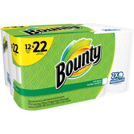 Bounty Paper Towels Super Rolls, White